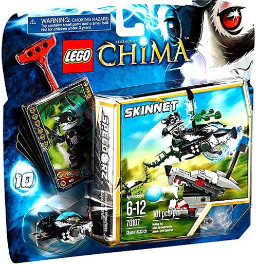 LEGO Legends of Chima Skunk Attack Set #70107