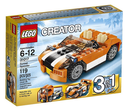 LEGO Creator Sunset Speeder Set #31017