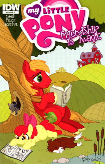My Little Pony Friendship is Magic Comic Book #10 [Retailer Incentive]