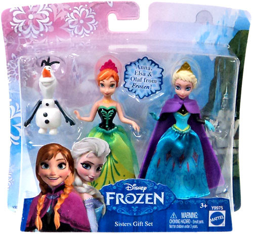 Disney Frozen Sisters Gift Set 3.75-Inch Figure Set [Anna, Elsa & Olaf]