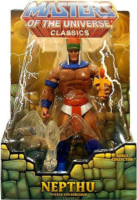 Masters of the Universe Classics Club Eternia Nepthu Exclusive Action Figure [Filmation Look]