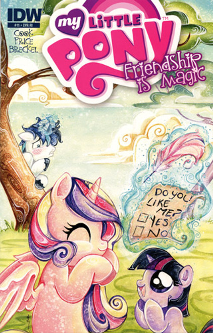 My Little Pony Friendship is Magic Comic Book #11 [Retailer Incentive]