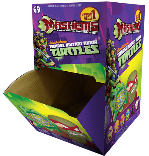 Teenage Mutant Ninja Turtles Mash'Ems Series 1 TMNT Mash'Ems Mystery Box