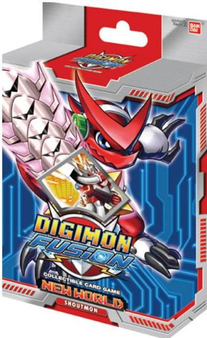 Digimon Fusion Shoutmon Starter Deck