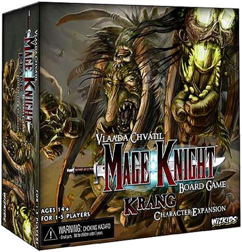 Mage Knight Board Game [Krang Character Expansion]
