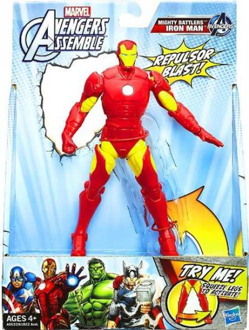 Marvel Avengers Assemble Mighty Battlers Iron Man Action Figure