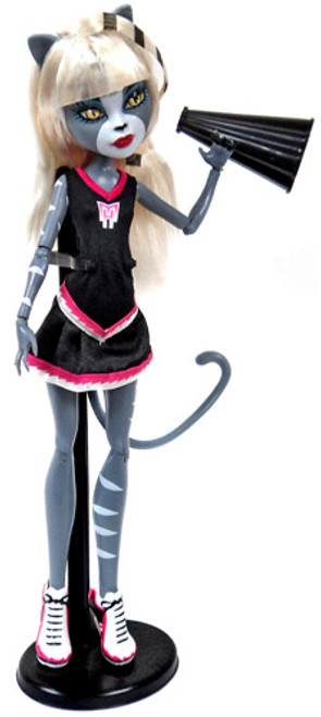 Monster High Fearleading Meowlady Exclusive 10.5-Inch Doll [Loose]