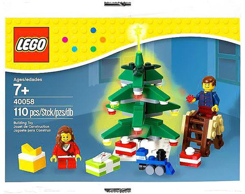 LEGO Christmas 2013 Decorating the Tree Exclusive Mini Set #40058 [Bagged]