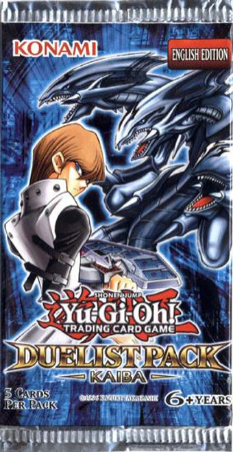YuGiOh Duelist Pack: Kaiba Booster Pack [Sealed]
