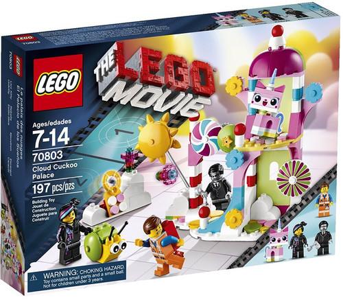 The LEGO Movie Cloud Cuckoo Palace Set #70803