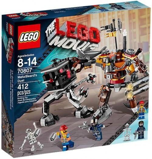 The LEGO Movie MetalBeard's Duel Set #70807