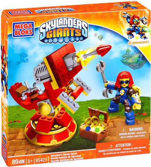 Mega Bloks Skylanders Giants Spocket's Heroic Turret Set #95421