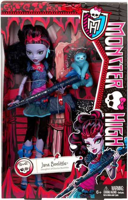Monster High Jane Boolittle 10.5-Inch Doll [With Needles]