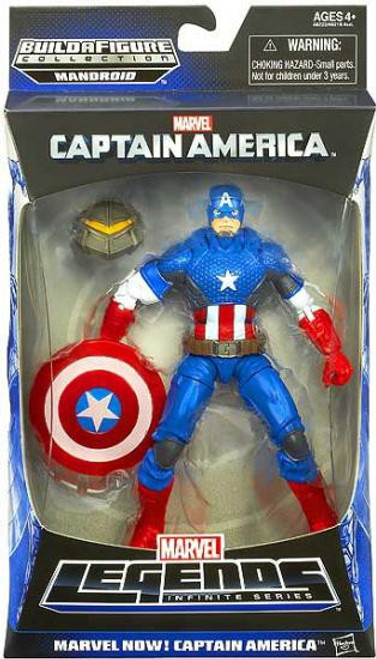 Marvel Legends Infinite Series Mandroid Marvel Now! Captain America Action Figure