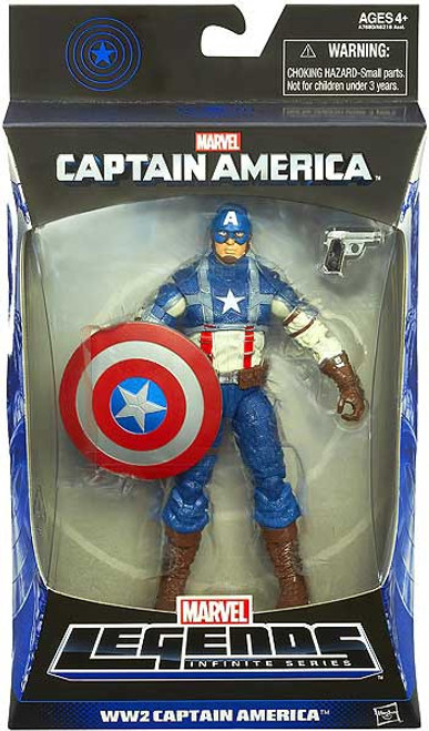 Marvel Legends Infinite Series Mandroid WW2 Captain America Action Figure