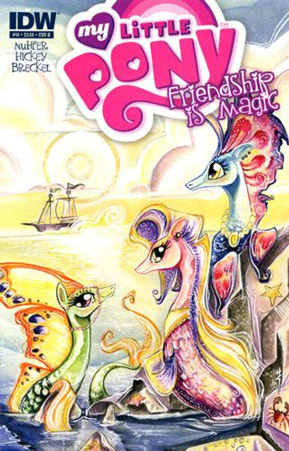 My Little Pony Friendship is Magic Comic Book #14 [Cover B]
