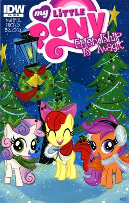 My Little Pony Friendship is Magic Comic Book #14 [Retailer Incentive]