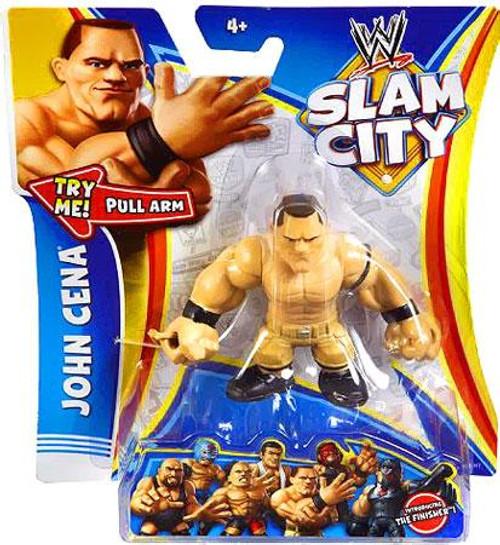 WWE Wrestling Slam City John Cena Action Figure