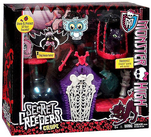 Monster High Secret Creepers Crypt 10.5-Inch