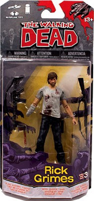 McFarlane Toys Walking Dead Comic Series 3 Rick Grimes Action Figure