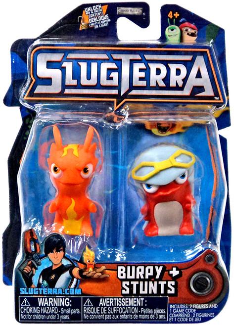 Slugterra Series 3 Burpy & Stunts Mini Figure 2-Pack