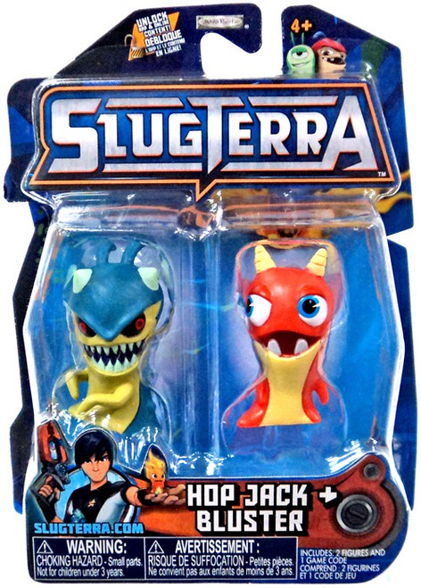 Slugterra Series 3 Hop Jack & Bluster Mini Figure 2-Pack [Includes Code for Exclusive Game Items]