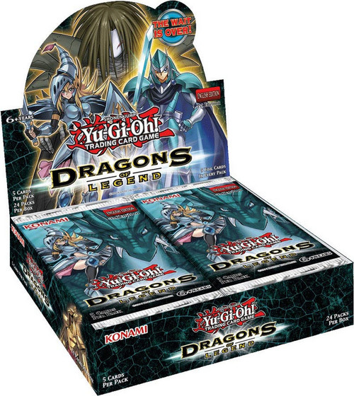 YuGiOh Dragons of Legend Booster Box [Sealed]