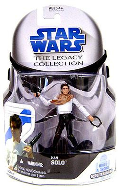 Star Wars The Empire Strikes Back Legacy Collection 2008 Droid Factory Han Solo Action Figure BD01 [Skiff]