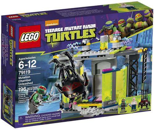 LEGO Teenage Mutant Ninja Turtles Mutation Chamber Unleashed Set #79119