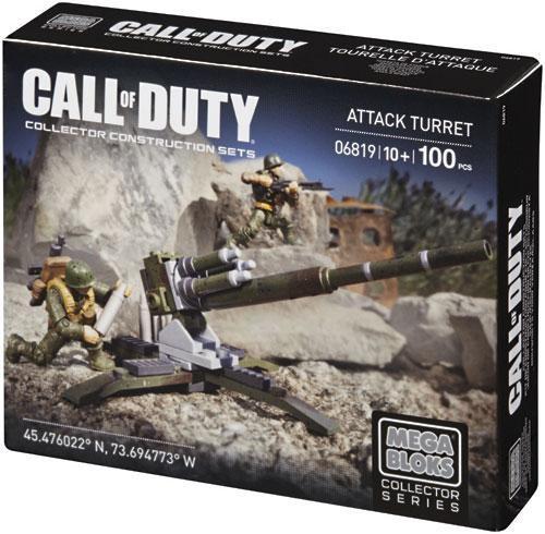 Mega Bloks Call of Duty Turret Attack Set #06819