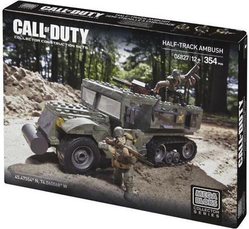 Mega Bloks Call of Duty Half Track Ambush Set #06827