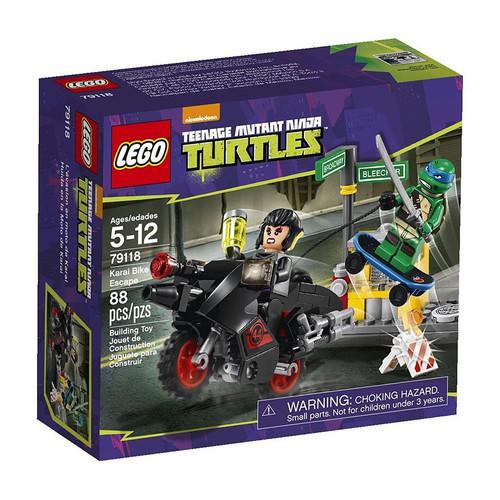 LEGO Teenage Mutant Ninja Turtles Karai Bike Escape Set #79118