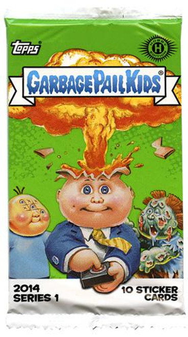 Garbage Pail Kids 2014 Series 1 Trading Card Pack [Hobby Edition]