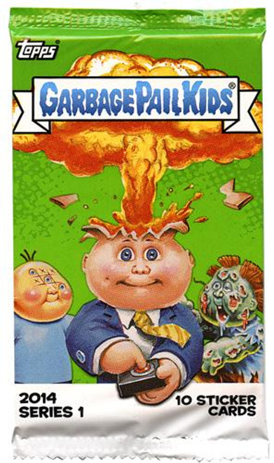 Garbage Pail Kids 2014 Series 1 Trading Card Pack [Retail Edition]