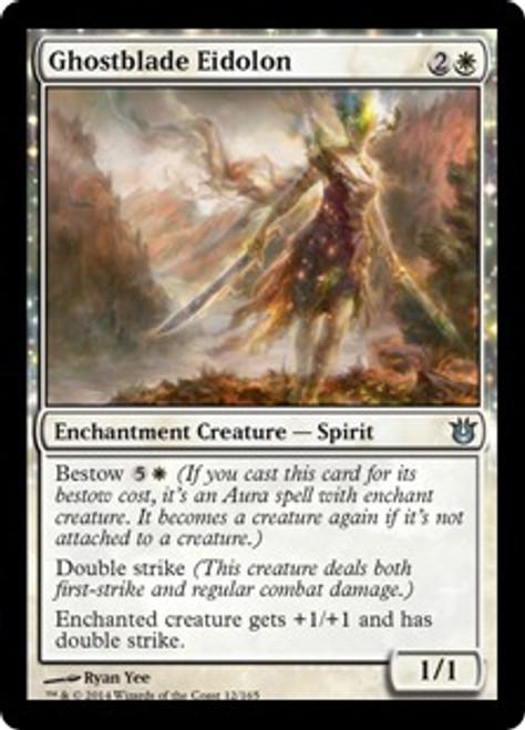 MtG Born of the Gods Uncommon Ghostblade Eidolon #12