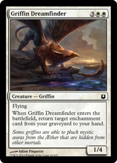 MtG Born of the Gods Common Griffin Dreamfinder #16