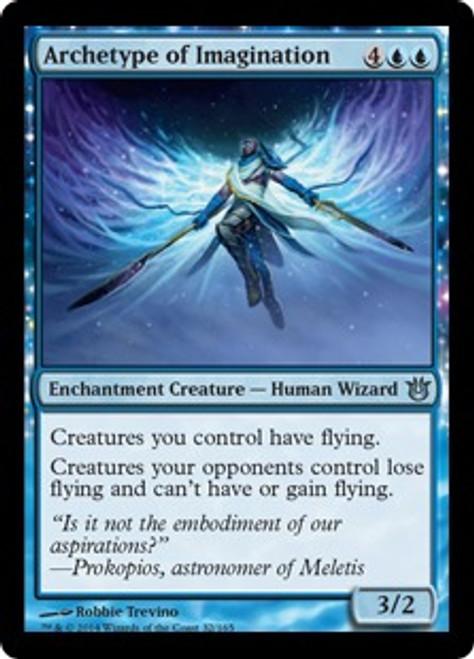 MtG Born of the Gods Uncommon Archetype of Imagination #32