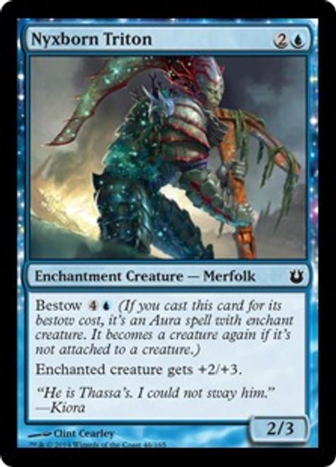 MtG Born of the Gods Common Nyxborn Triton #46