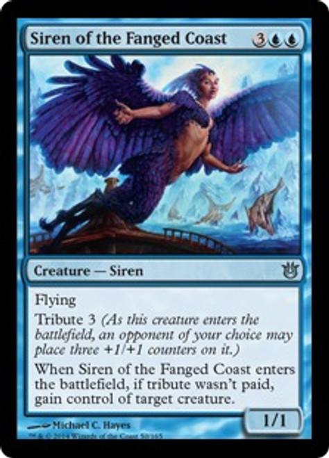 MtG Born of the Gods Uncommon Siren of the Fanged Coast #50
