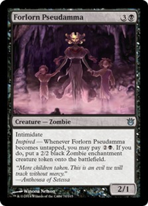 MtG Born of the Gods Uncommon Forlorn Pseudamma #71