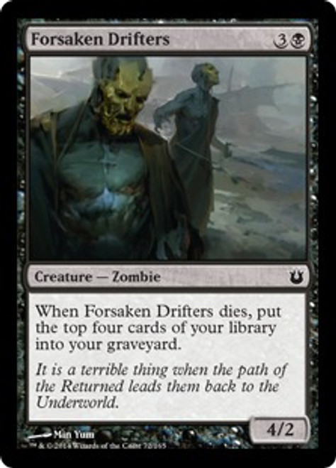 MtG Born of the Gods Common Forsaken Drifters #72