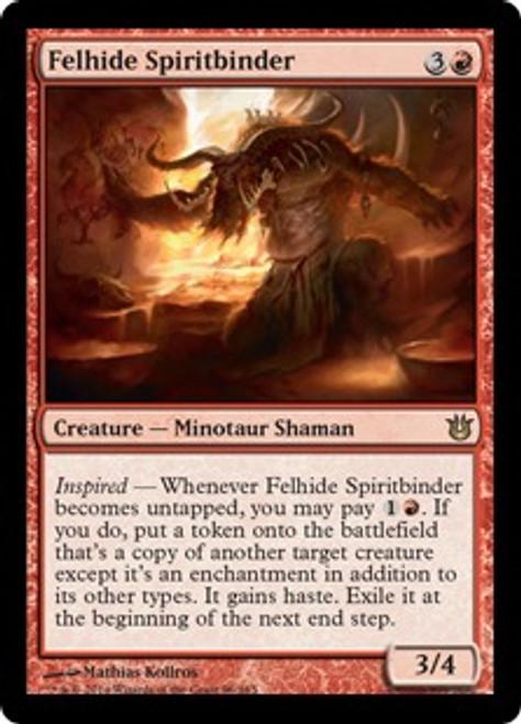 MtG Born of the Gods Rare Felhide Spiritbinder #96