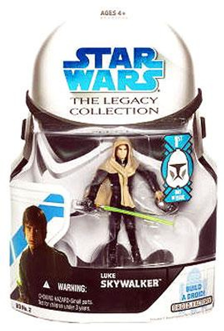 Star Wars Return of the Jedi Legacy Collection 2008 Droid Factory Luke Skywalker Action Figure BD02 [Skiff, First Day of Issue]