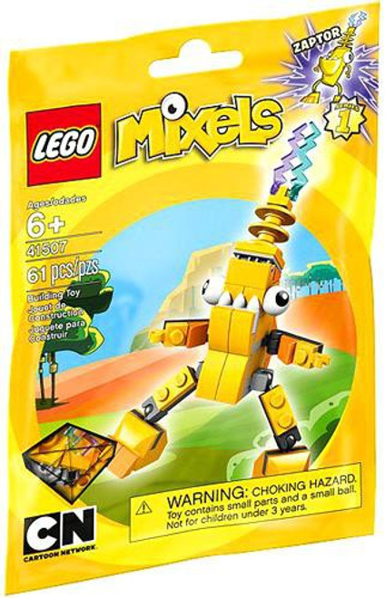 LEGO Mixels Series 1 Zaptor Set #41507