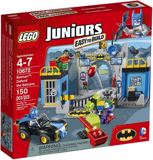 LEGO Juniors Batman: Defend the Batcave Set #10672