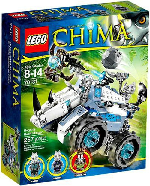LEGO Legends of Chima Rogon's Rock Flinger Set #70131