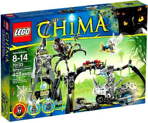 LEGO Legends of Chima Spinlyn's Cavern Set #70133