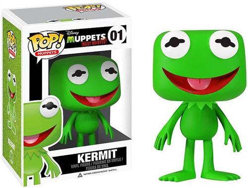 The Muppets Muppets Most Wanted Funko POP! Television Kermit Vinyl Figure #01