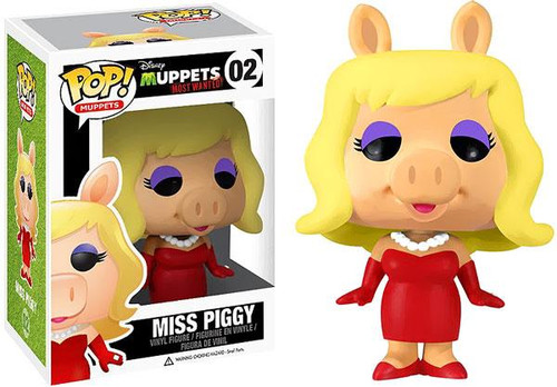The Muppets Muppets Most Wanted Funko POP! Television Miss Piggy Vinyl Figure #02