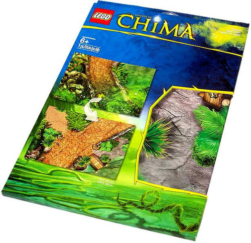 LEGO Legends of Chima Outlands Playmat #850899